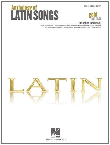 9781423489665: Anthology of Latin Songs