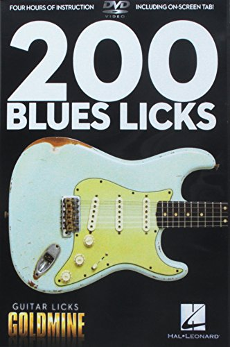 9781423489702: 200 Blues Licks - Guitar Licks Goldmine
