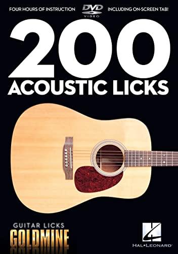 9781423489740: 200 Acoustic Licks - Guitar Licks Goldmine