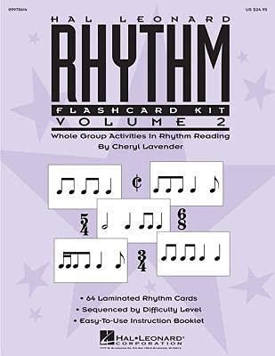 Hal Leonard Rhythm Flashcard Kit: Lavender, Cheryl