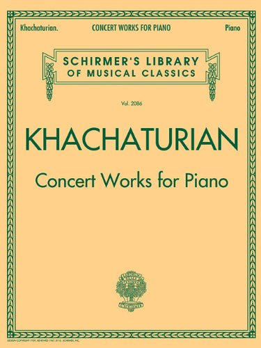 9781423490197: Concert Works for Piano: Schirmer's Library of Musical Classics, Vol. 2086