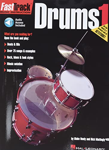 9781423490531: FastTrack Drums Method Starter Pack: Book/Online Audio/DVD Pack (Fast Track (Hal Leonard))