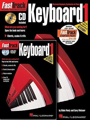 9781423490548: FastTrack Keyboard Method Starter Pack: Book/Online Audio/DVD Pack (Fast Track (Hal Leonard))