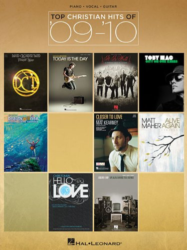9781423490845: Top Christian Hits of '09-'10