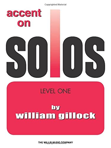 9781423490944: Accent on Solos Book 1