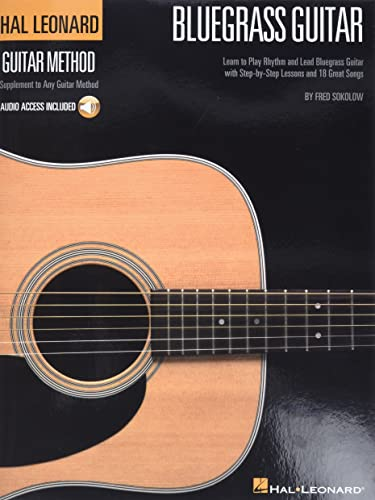 9781423491613: Bluegrass Guitar Stylistic Supplement To The Hal Leonard Guitar Method Bk/Cd (Hal Leonard Guitar Method (Songbooks))