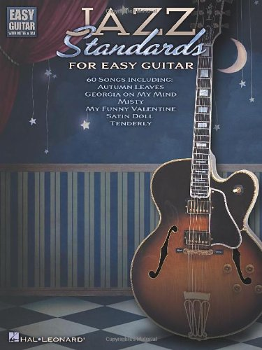 Jazz Standards For Easy Guitar (With Tab) (Easy Guitar With Notes & Tab)