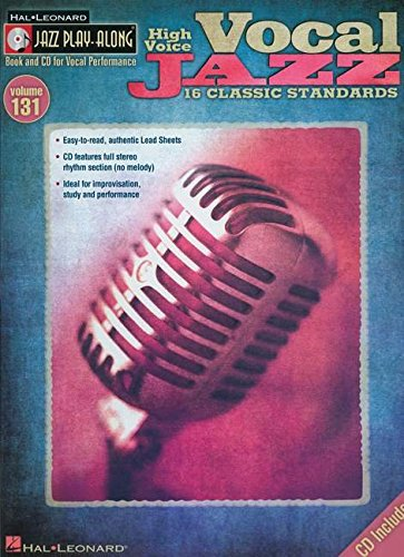 Vocal Jazz (High Voice) - Jazz Play-Along Volume 131 (Cd/Pkg)
