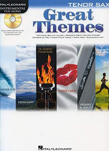 9781423491965: Great Themes For Tenor Sax - Instrumental Play-Along Bk/CD (Hal Leonard Instrumental Play-Along)