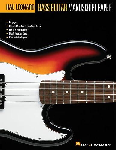 Bass Guitar Manuscript Paper