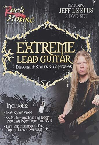 9781423492597: Jeff Loomis: Extreme Lead Guitar - Dissonant Scales & Arpeggios