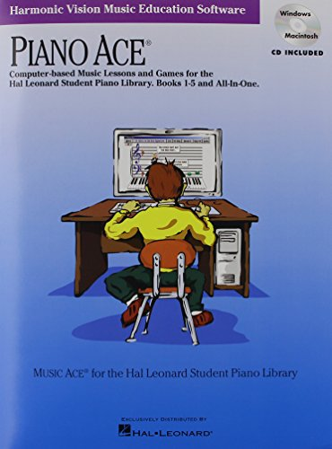 Piano Ace Computer-based Music Lessons and Games for the Hal Leonard Student Piano Library.: ...