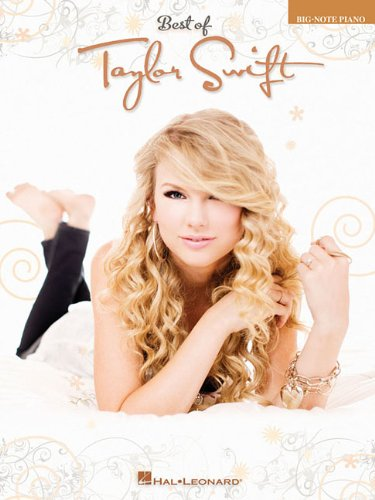 9781423493242: Best of Taylor Swift (Big-Note Piano)