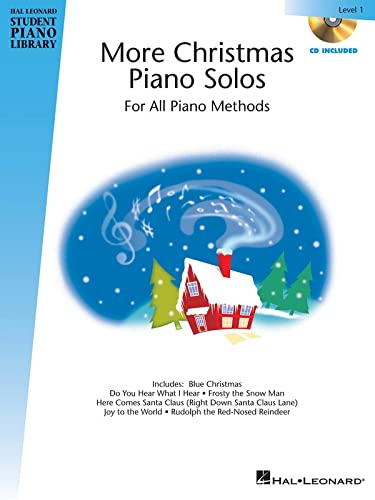 9781423493266: More Christmas Piano Solos Level 1 Bk/Cd