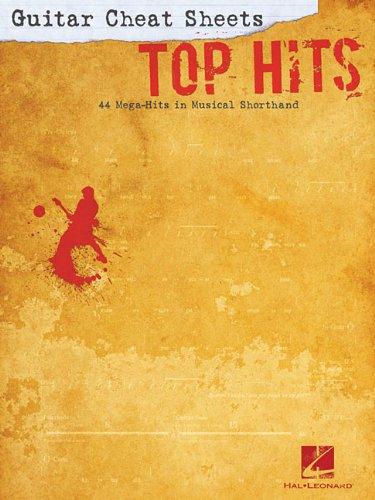 9781423494126: Guitar Cheat Sheets -Top Hits