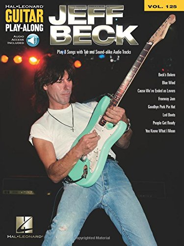 9781423494461: Jeff Beck - Guitar Play-Along Volume 125 (Book/Cd)