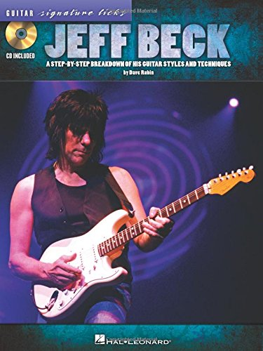 9781423494485: Jeff Beck - Guitar Signature Licks (CD/Pkg)