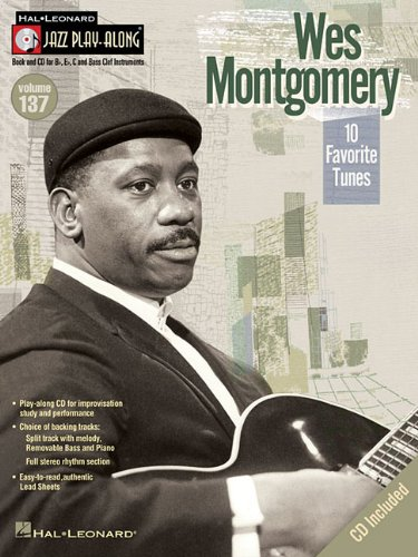 9781423494522: Wes Montgomery - Jazz Play-Along Volume 137 Bk/Cd