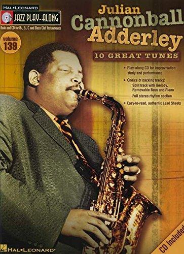 9781423494546: Julian Cannonball Adderley- Jazz Play-Along Volume 139 (Cd/Pkg) (Hal Leonard Jazz Play-Along)