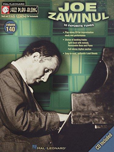 9781423494553: Joe Zawinul: Jazz Play-Along Volume 140 (Hal Leonard Jazz Play-Along)