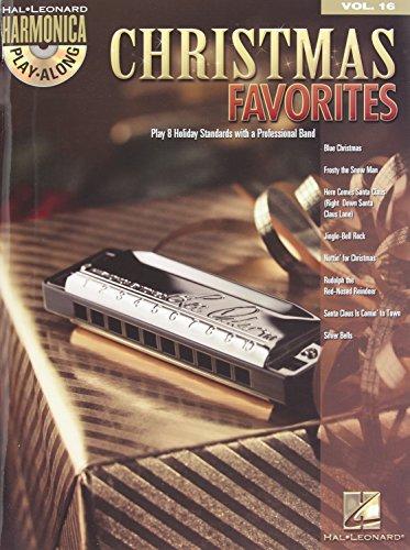 9781423494645: Christmas Favorites - Harmonica Play-Along Volume 16 Book/Cd (Diatonic Harmonica)