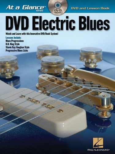 Electric Blues - At A Glance (Book/Dvd) (At a Glance Series): Hal Leonard Corp.