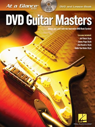 9781423494935: Guitar Masters Guitare +DVD (At a Glance (Hal Leonard))