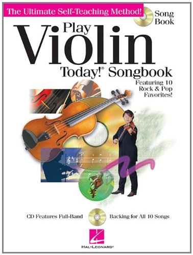 Play Violin Today] Songbook (Cd/Pkg) (Ultimate Self-Teaching Method!)