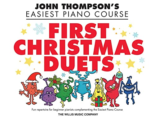 9781423495208: First Christmas Duets Piano (John Thompson's Easiest Piano)