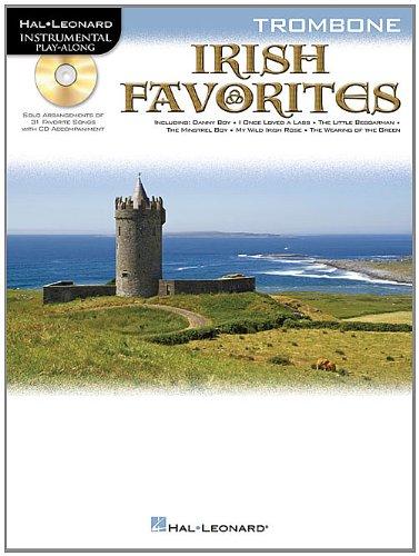 Irish Favorites: Trombone (Instrumental Play Along Bk Cd): Hal Leonard Corp.