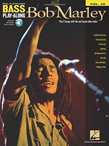 9781423495352: Bob Marley: Bass Play-Along Volume 35