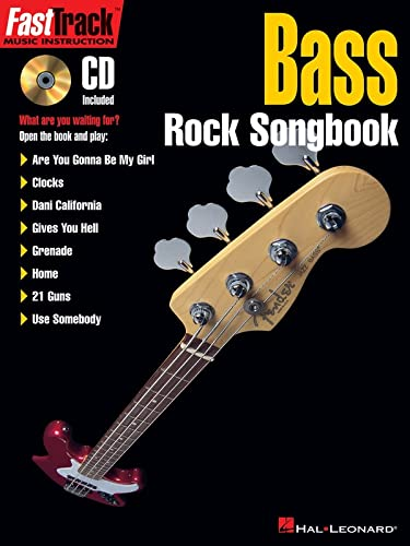 Fasttrack Bass Rock Songbook (Book & CD)