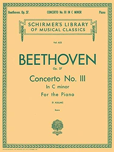 Concerto No. III for the Piano, Op. 37: Beethoven, Ludwig Van