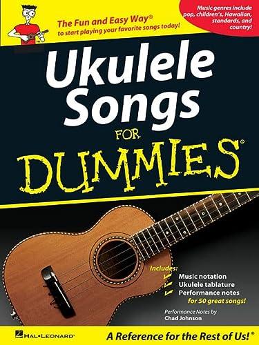 9781423496045: Ukulele Songs for Dummies
