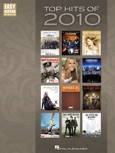 9781423496076: Top Hits Of 2010 - Easy Guitar With Tab