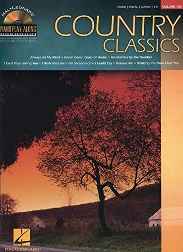 9781423496304: Piano Play Along Volume 100 Country Classics Pf Bk/Cd (Hal Leonard Piano Play-Along)