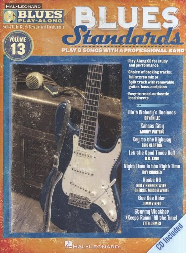 9781423496489: Blues Standards: Blues Play-Along Volume 13 (Book/CD) (Hal Leonard Blues Play-Along)
