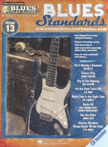 9781423496489: Blues Play-Along Volume 13: Blues Standards (Hal Leonard Blues Play-Along)