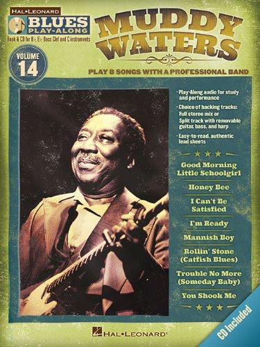 9781423496496: Muddy Waters: Blues Play-Along Volume 14 (Hal Leonard Blues Play-Along)