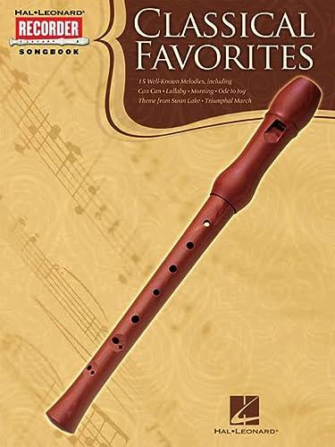 9781423496564: Classical Favorites: Hal Leonard Recorder Songbook