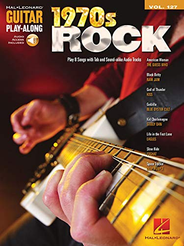 1970S ROCK - GUITAR PLAY-ALONG VOLUME 127 (BOOK/CD): Hal Leonard Corp.