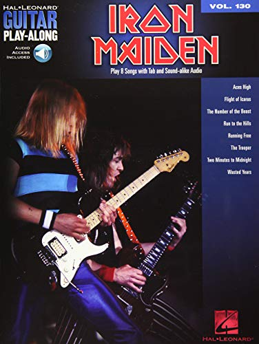 9781423496830: Iron Maiden: Guitar Play-Along Volume 130