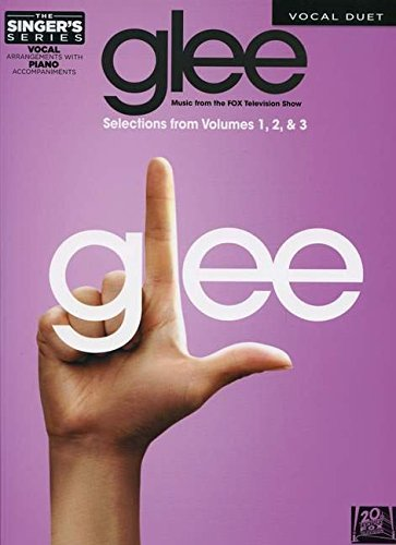 GLEE - DUETS -SELECTIONS FROM GLEE: THE MUSIC VOLS 1-3 THE SINGER'S SERIES (Singer's (Hal...