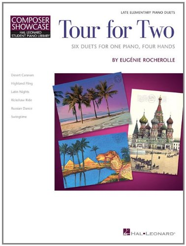 9781423497028: Tour for Two: HLSPL Composer Showcase NFMC 2014-2016 Selection 1 Piano, 4 Hands (Hal Leonard Student Piano Library)