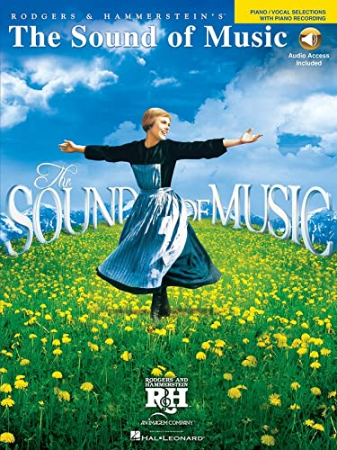 9781423498001: The Sound of Music: Vocal Selections with Piano Recording Bk/Online Audio