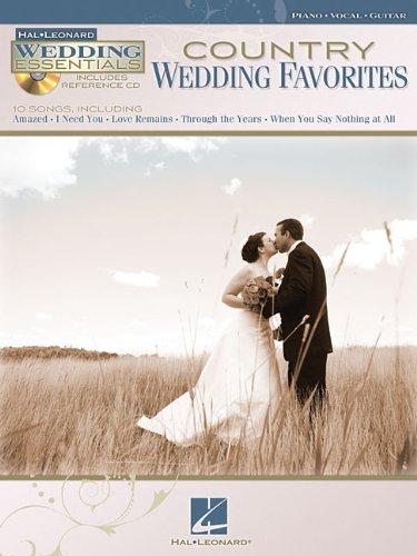 Country Wedding Favorites - Wedding Essentials Series (Bk/Cd): Hal Leonard Corp.