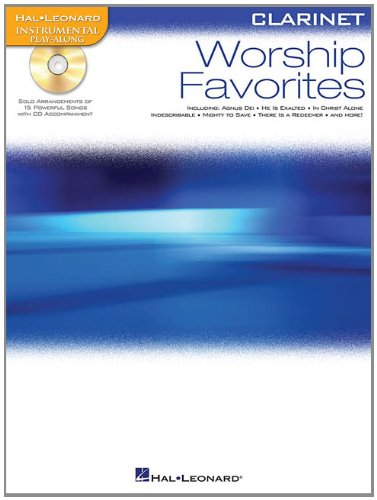9781423499305: Worship Favorites: Instrumental Play-Along for Clarinet