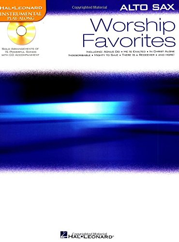 9781423499312: Worship Favorites: Instrumental Play-Along for Alto Sax