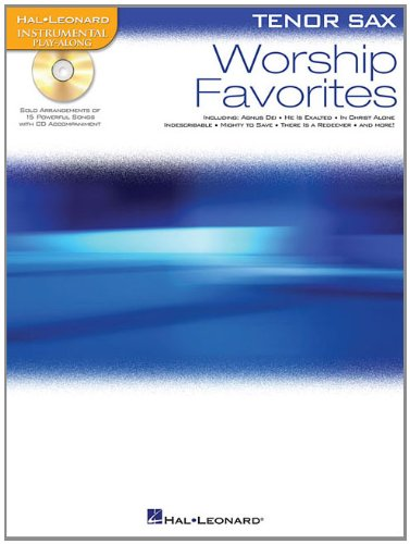 9781423499329: Worship Favorites: Instrumental Play-Along for Tenor Sax (Hal-Leonard Instrumental Play-Along)