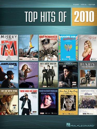 Top Hits of 2010: Piano/Vocal/Guitar (Top Hits of Piano Vocal Guitar)